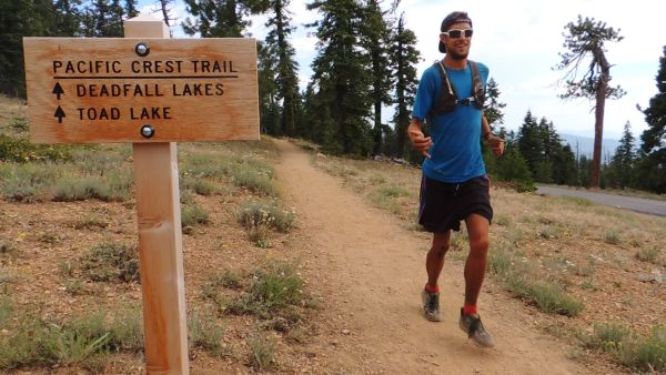 McConaughy on the Pacific Crest Trail in 2014